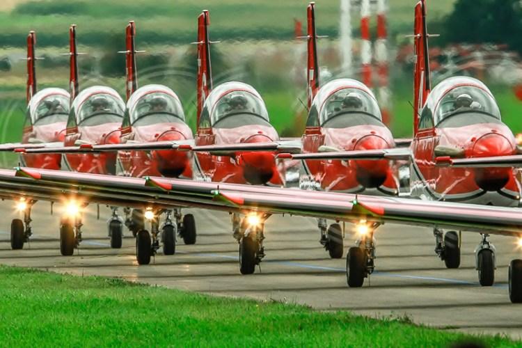 air14 payerne pc-7 team swiss air force