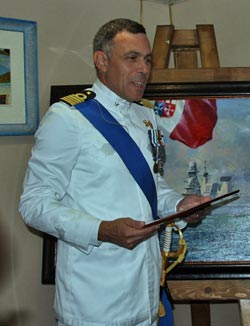 comandante cacciaotorpediniere caio duilio capitano di vascello paolo pezzutti