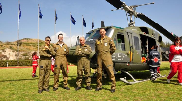 esercitazione efesto accademia aeronautica militare e protezione civile