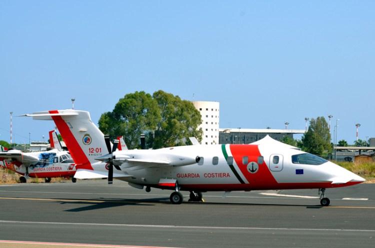 il 2° nucleo aereo della guardia costiera di catania