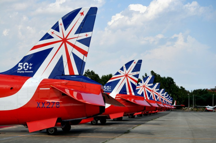 red arrows aerobatic team a catania