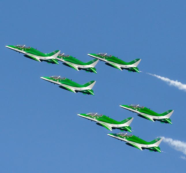 pattuglia acrobatica aeronautica militare arabia saudita