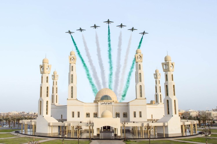 pattuglia acrobatica saudi hawks