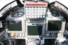 cockpit anteriore MB339CD