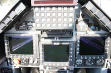 cockpit posteriore MB339CD
