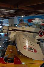 S79 ex aeronautica libanese al museo dell'aeronautica di trento
