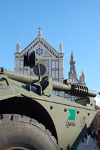 Blindo Centauro 105mm a Firenze