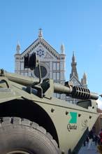 Blindo Centauro 105mm a Firenze