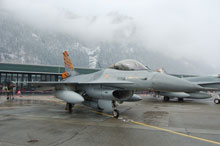 F16A Tiger 31 fighter wing belgique air force
