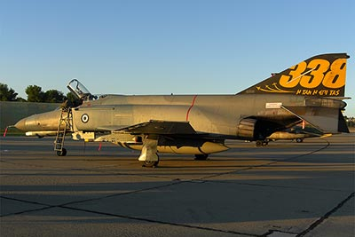 Visiting HAF F-4E Peace Icarus 2000 from the 338. Sq in Andravida AB special color for 60th anniversary