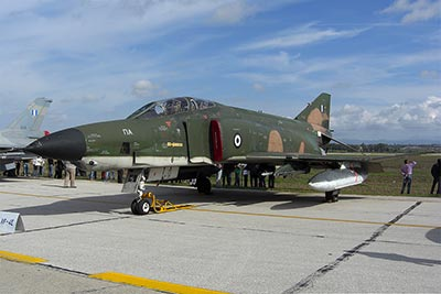 Visiting RF-4E from the 348. Sq in Larissa AB