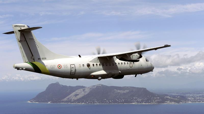 foto degli ATR-42 della guardia di finanza