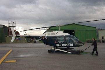 AB-206 Carabinieri per l'esercito argentino