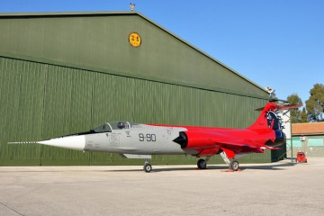 f-104 starfighter special color ferrari