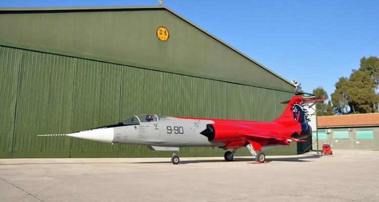 f-104 starfighter special color ferrari