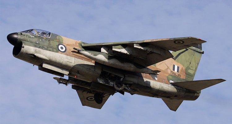 a-7 corsair II hellenic air force
