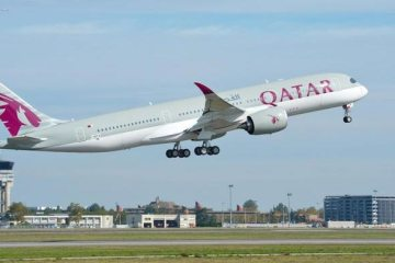 primo volo airbus a350 qatar airways
