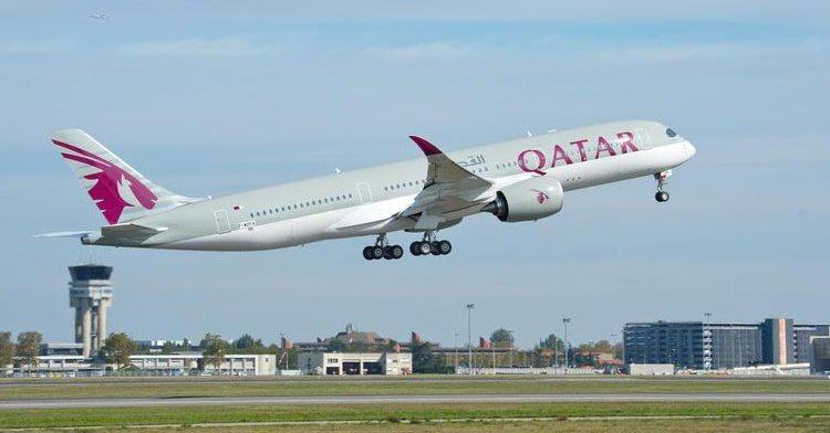 primo volo airbus a350 qatar airways