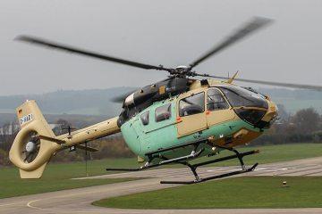 vola il primo ec645t2 airbus helicopter per il Bunderswehr tedesco