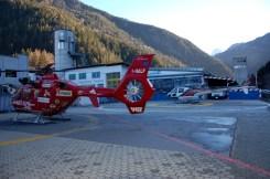 elicotteri del soccorso aereo della val gardena