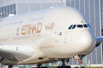 airbus a380 ethiad airways