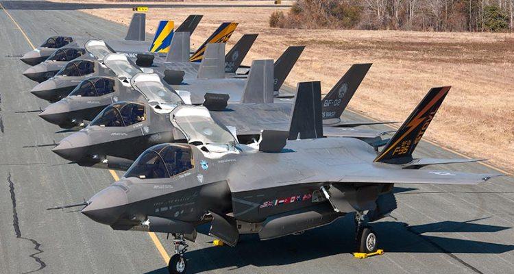 primi due squadrons di F-35A JSF americani in Europa