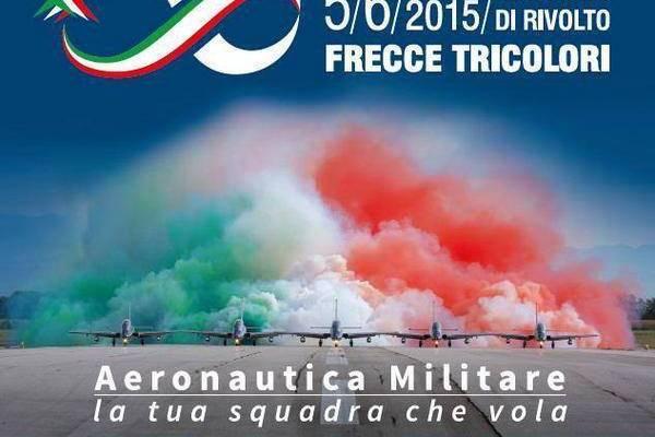 55 anniversario frecce tricolori 2015 rivolto