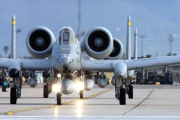 A-10 Thunderbolt II in Europa