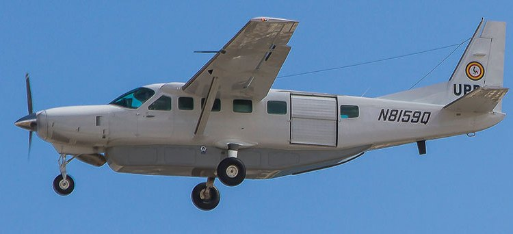 Cessna 208B Grand Caravan dell'UPDAF - Uganda People's Defence Force Air Wing