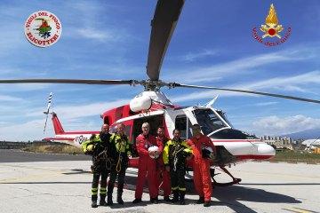 Reparto aereo Vigili del Fuoco di Catania