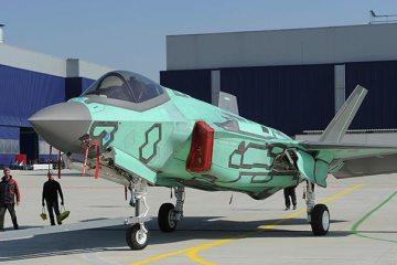 roll out primo F-35 italiano dalla FACO di Cameri