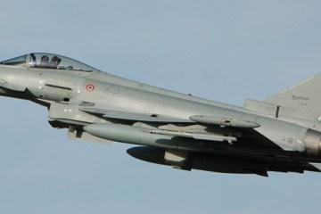 EF-2000 Typhoon Baltic Air Policing Italia