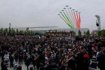 frecce tricolori apertura expo 2015 milano