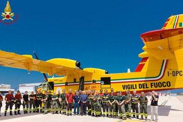 CL415 Sardegna antincendio 2015