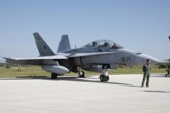 F-18B Ejercito del Aire