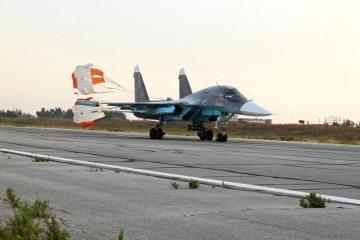 Su-34 Fullback russo in Siria