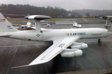 USAF E-3G Sentry Awacs