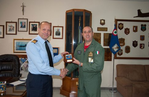 Comandante Logistico dell'AM Gen.SA Gabriele Salvestroni,