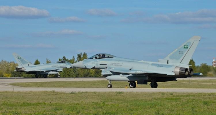 Royal Saudi Air Force EF-2000