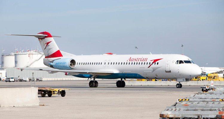 Fokker 100 Austrian Airlines