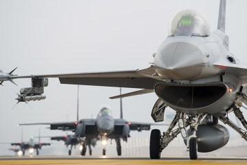 Esercitazione Buddy Wing USAF e ROKAF