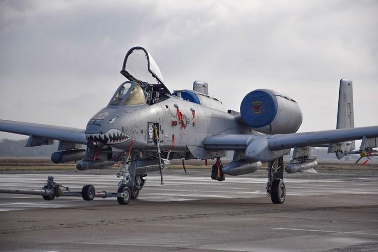 A-10C Thunderbolt II in Europa