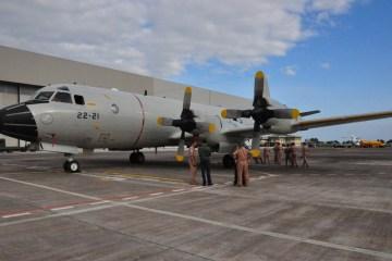 P-3 Orion Grupo 22 Ejercito del Aire spagnolo a Sigonella