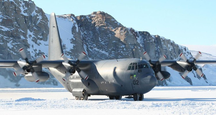 c-130 hercules new zealand air force antartide