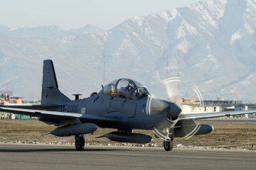 A-29 Super Tucano Afghan Air Force