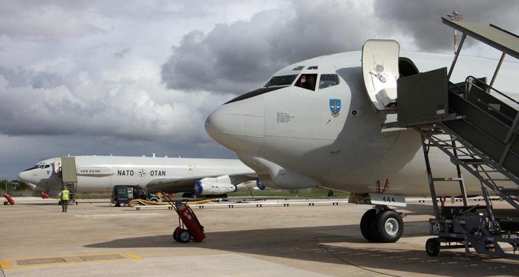 E-3A Sentry Awacs della NATO