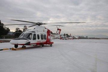 3^ terza sezione volo elicotteri guardia costiera pescara