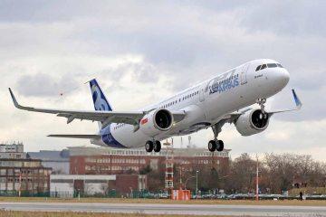 primo volo dell'Airbus A321