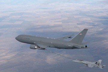 KC-46A and F/A-18 Milestone