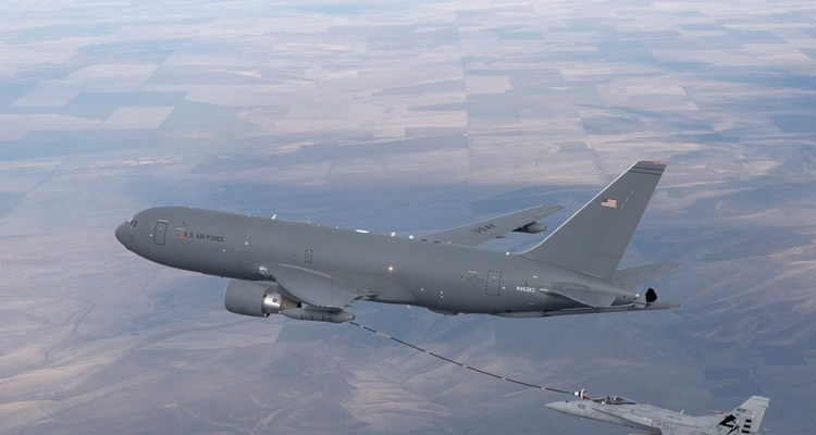 KC-46A and F/A-18 Milestone